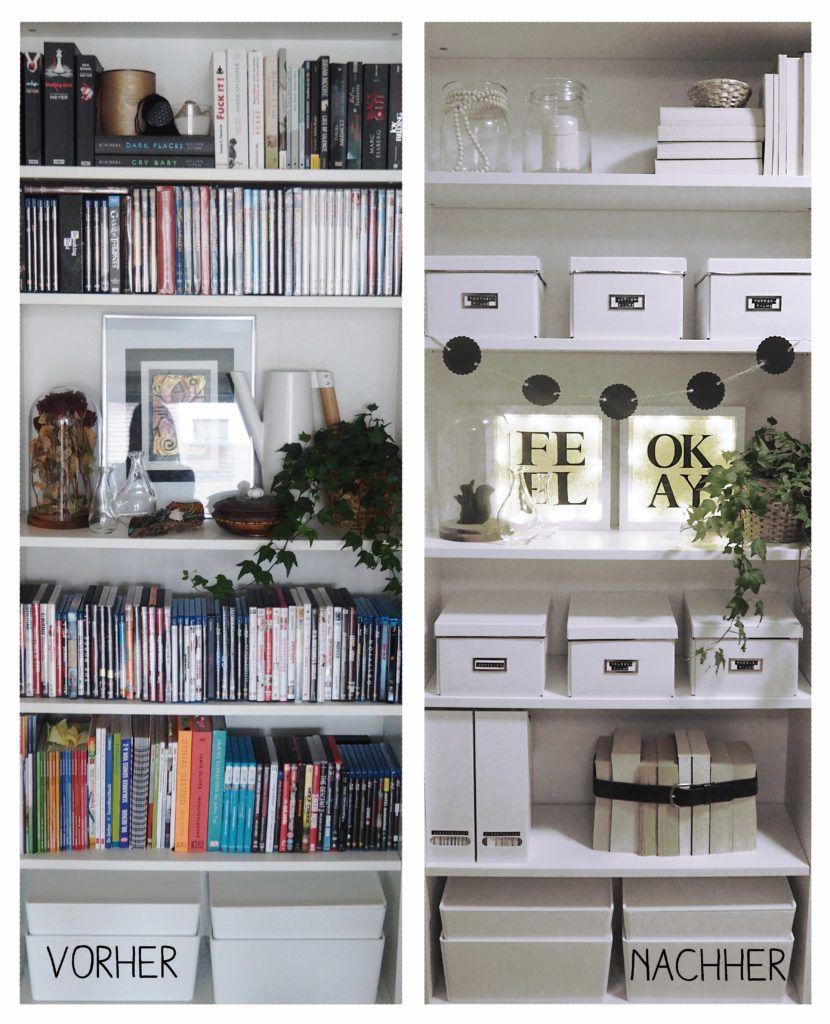 ikea billy regal diy vorher nachher inspiration interior regal billy regal und billi regal. Black Bedroom Furniture Sets. Home Design Ideas