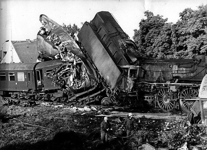 03 0078 nach dem Unfall in Lebus am 27. Juni 1977 -- Germany ...