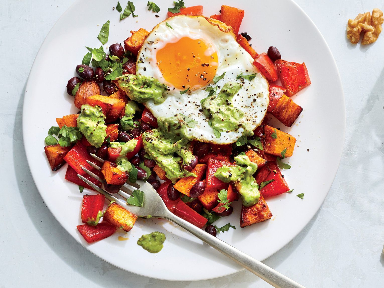 Southwestern Sweet Potato and Egg Hash Recipe - Co