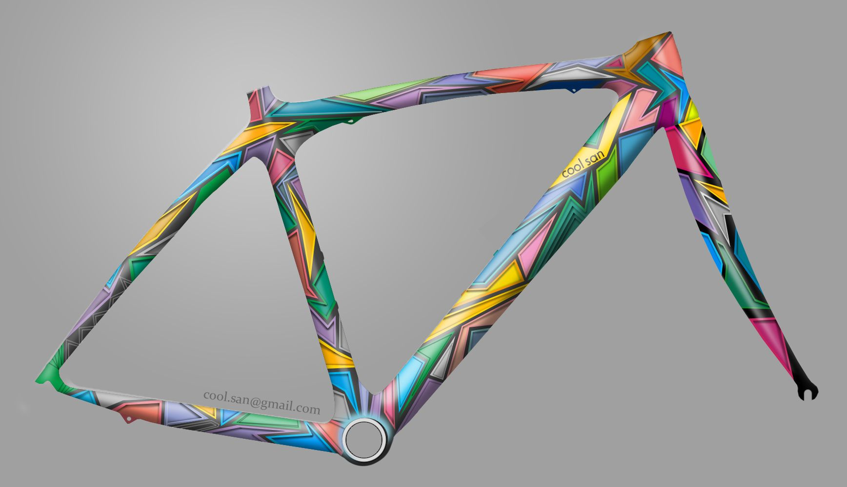 Pin By Coosun On Coosun S Velo Paintwork Bicycle Painting