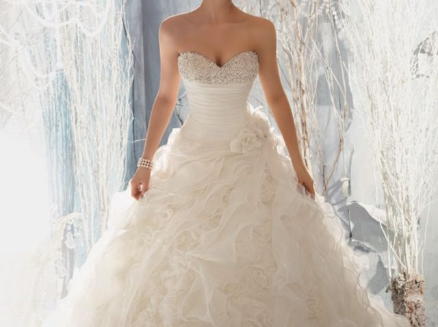 What Type Of Wedding Dress Should You Get Married In Wedding Dress Train Ball Gown Wedding Dress Ruffle Wedding Dress