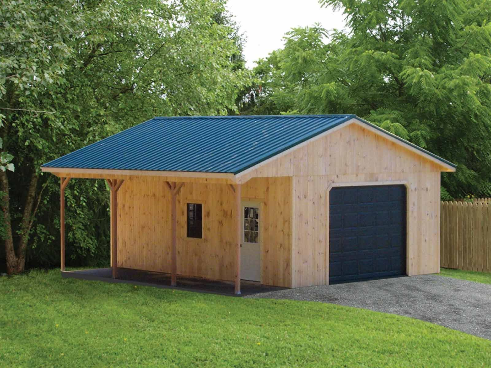 high wall made amish garage backyard pa dutch in prefabricated garages
