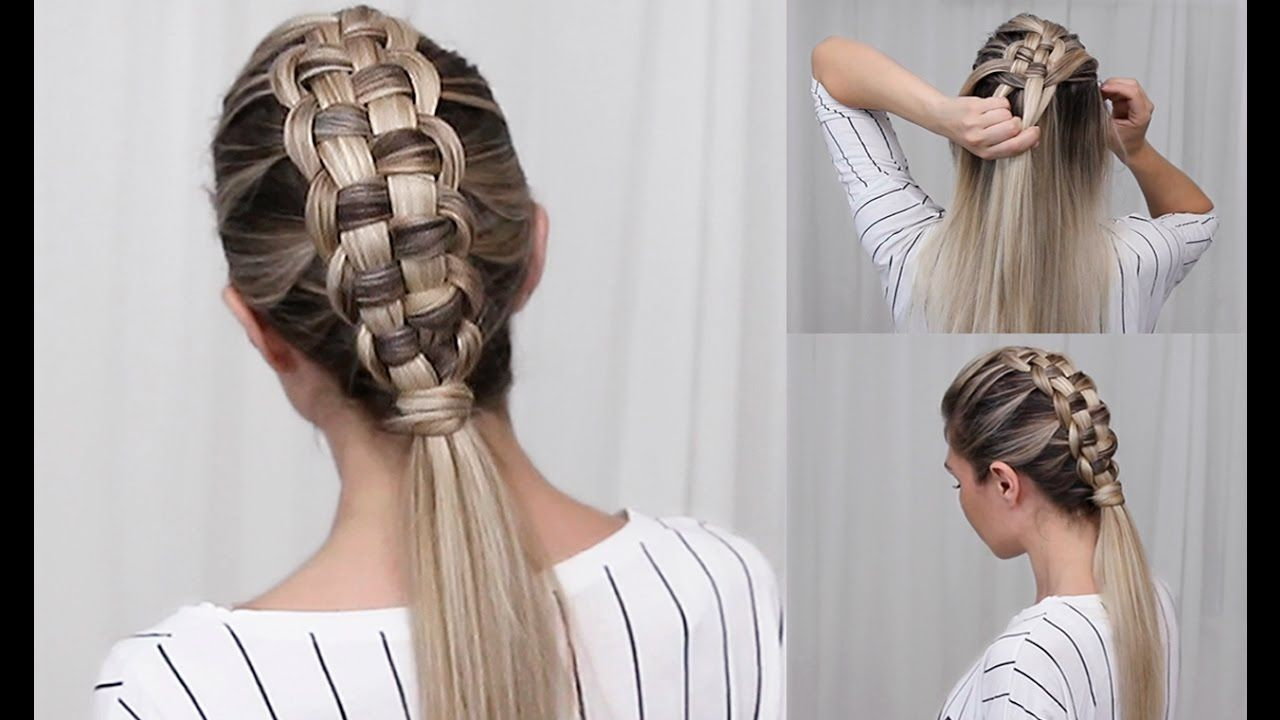 The zipper braid is a beautiful and unique style and youull be sure