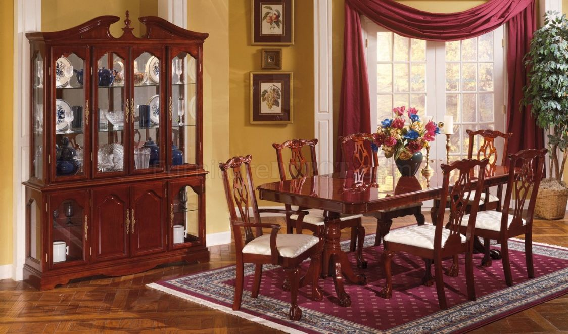 Traditional Cherry Dining Room Set Best Home Furniture Check