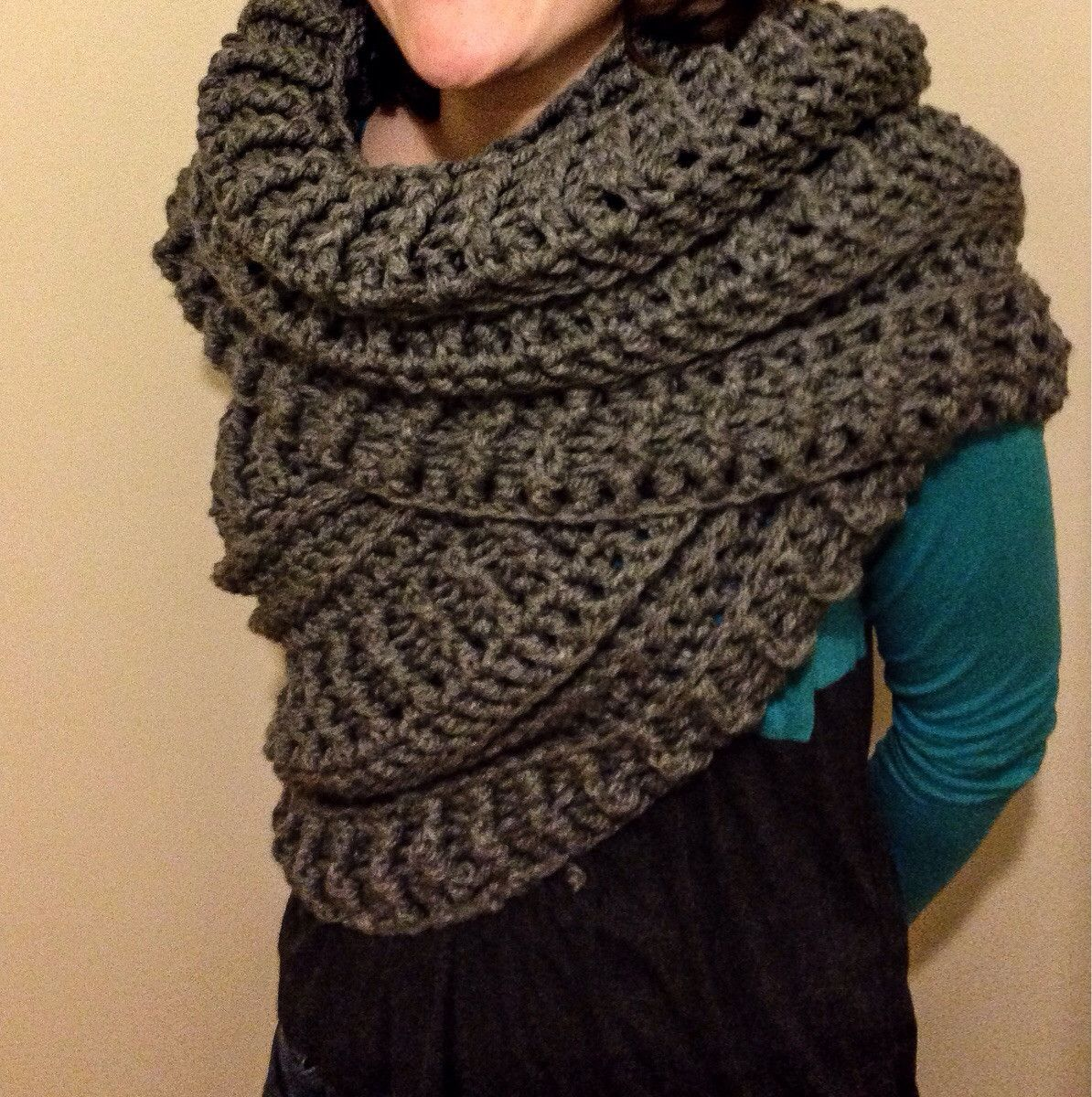 Magnificent Katniss Knitted Cowl Pattern Pattern - Blanket Knitting ...