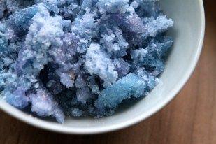 Zucker selber färben #Deko Zucker #blauer Zucker #bunter Zucker ohne Lebensmittelfarbe