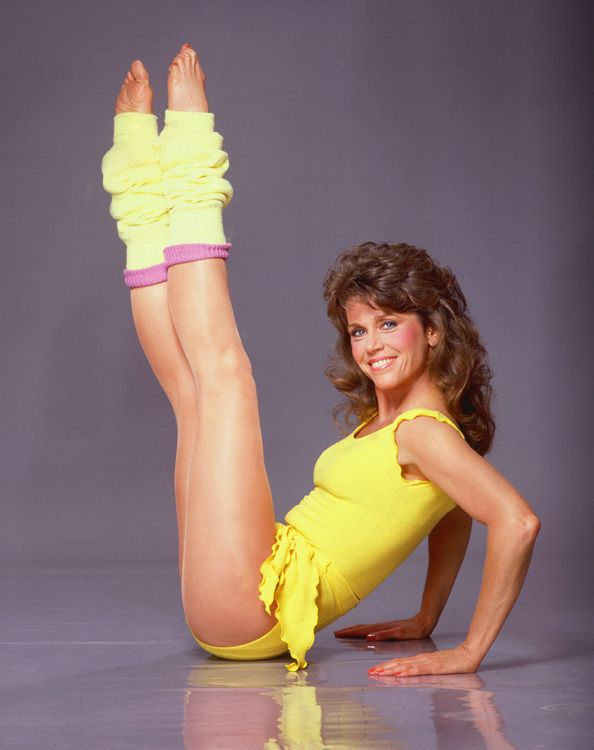 Let's Get Physical! Jane Fonda is Re-Releasing Her Fitness Tapes ...