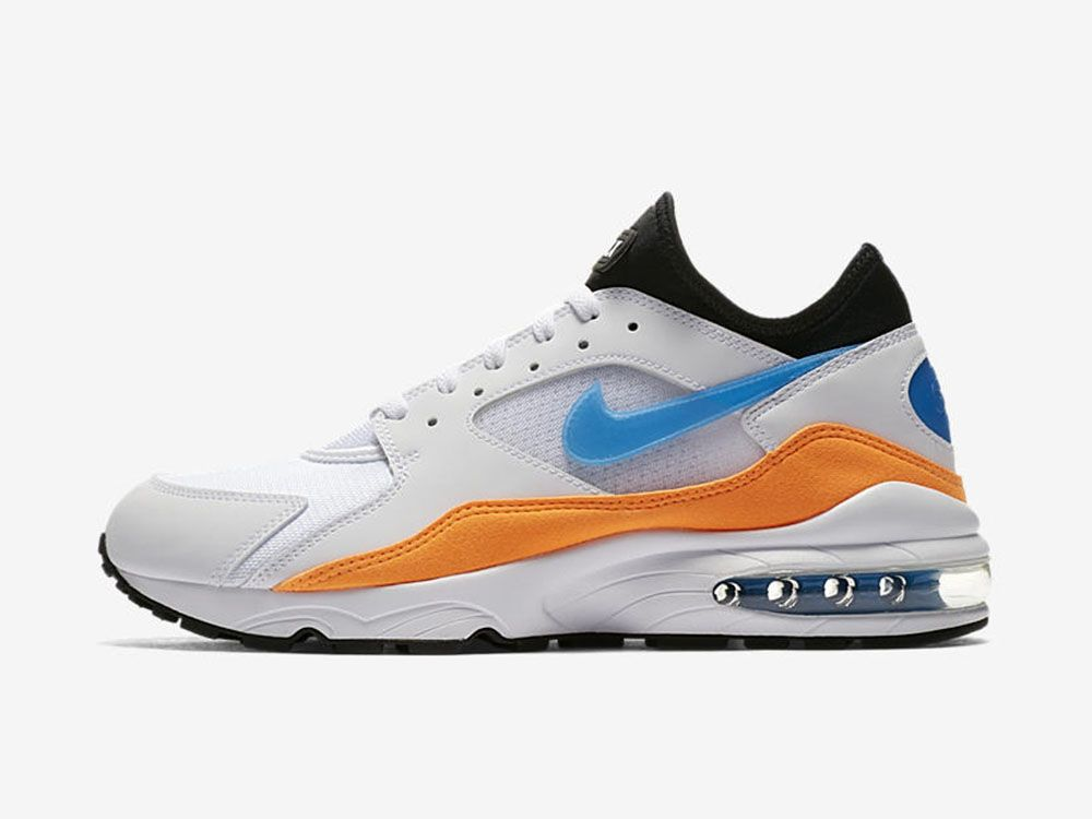 079181aeebb0f Oto Nike Air Max 93 w wersji White   Blue Nebula - Total Orange ...