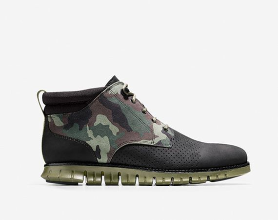 Cole Haan ZeroGrand Short Boot - Camo