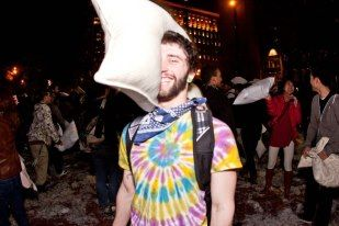 Valentines Day Pillow Fight, 2012