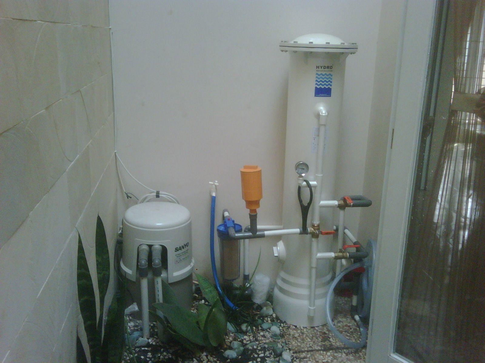 Pemasangan Filter Air Hydro 4000 di daerah Cibubur sudah