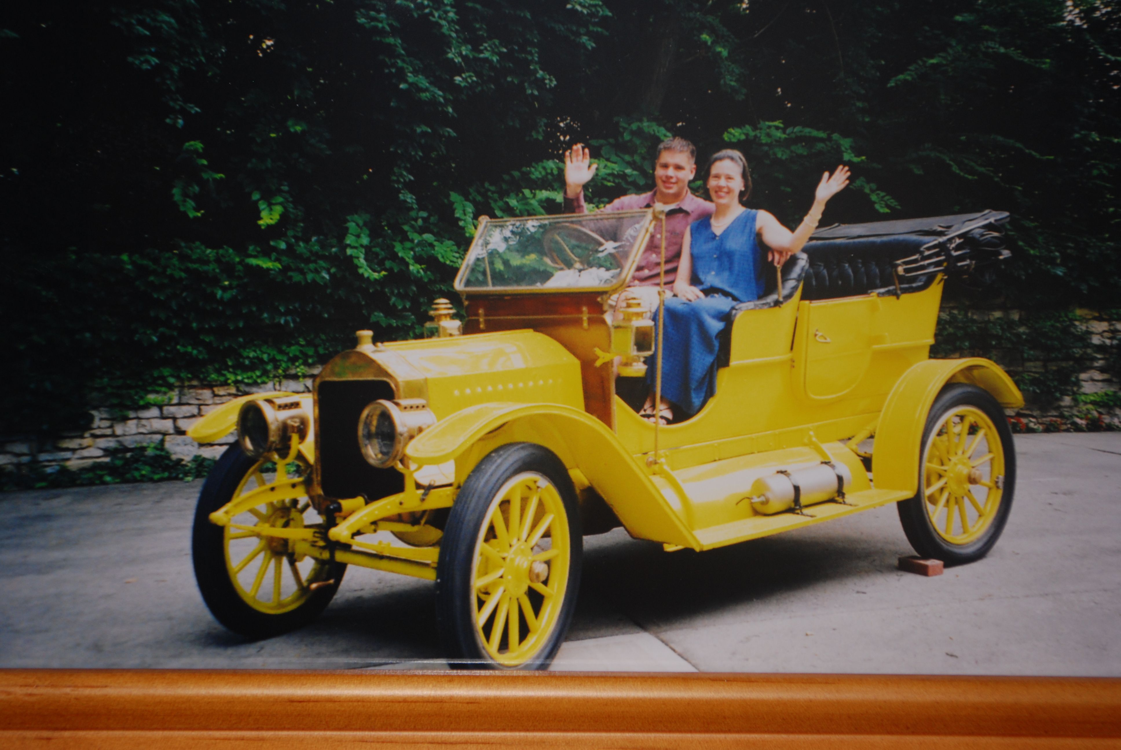 Lambert cars were built in Anderson, Indiana from 1902