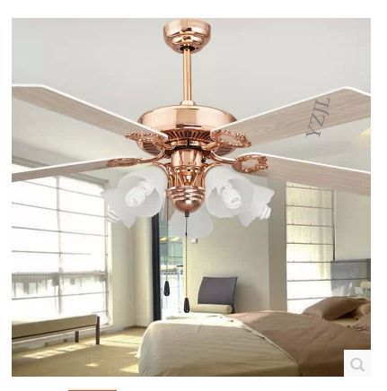 52inch ceiling fan light golden fan light ceiling dining room
