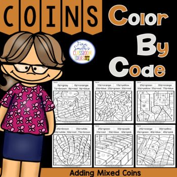 Your students will adore these Six Adding Mixed Coins worksheets