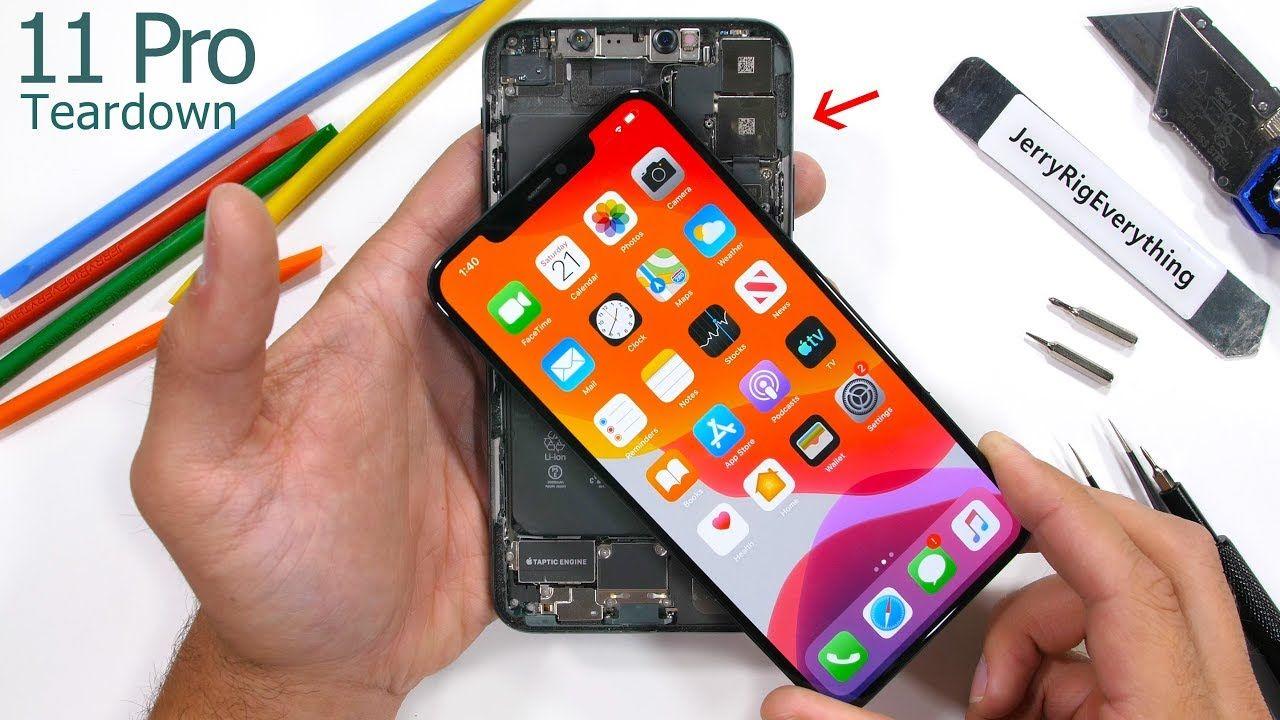 iPhone 11 Pro Max Teardown Tiny Motherboard & BIG