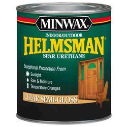 For The Wood In The Bathroom Minwax Helmsman Indoor Outdoor Spar Urethane Semi Gloss Quart Model Number 63210 Menards Sku Furniture Rehab Outdo