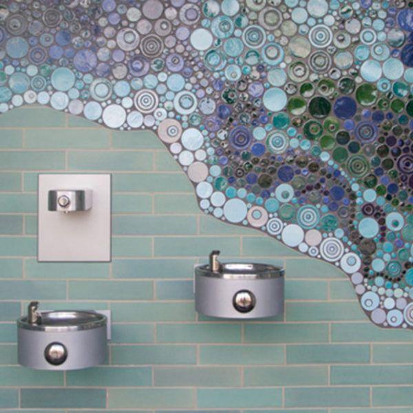 Bathrooms Decor Pad Handmade Ceramic Tiles Mercury Mosaics
