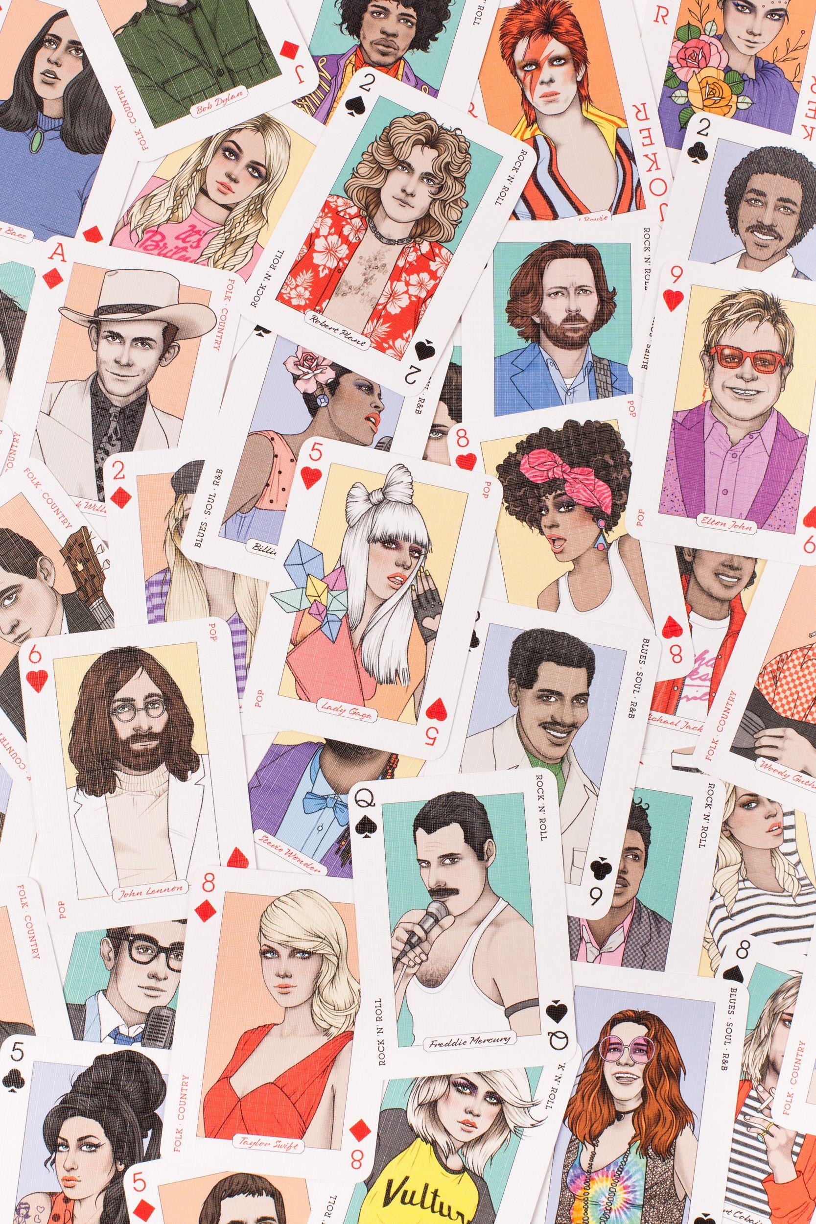 Music Genius Music genius, Playing cards, Music lovers