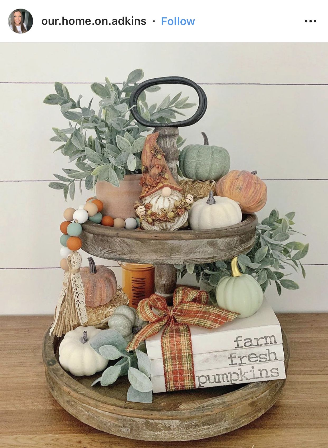 Home Fall home decor, Tiered tray decor, Fall decor