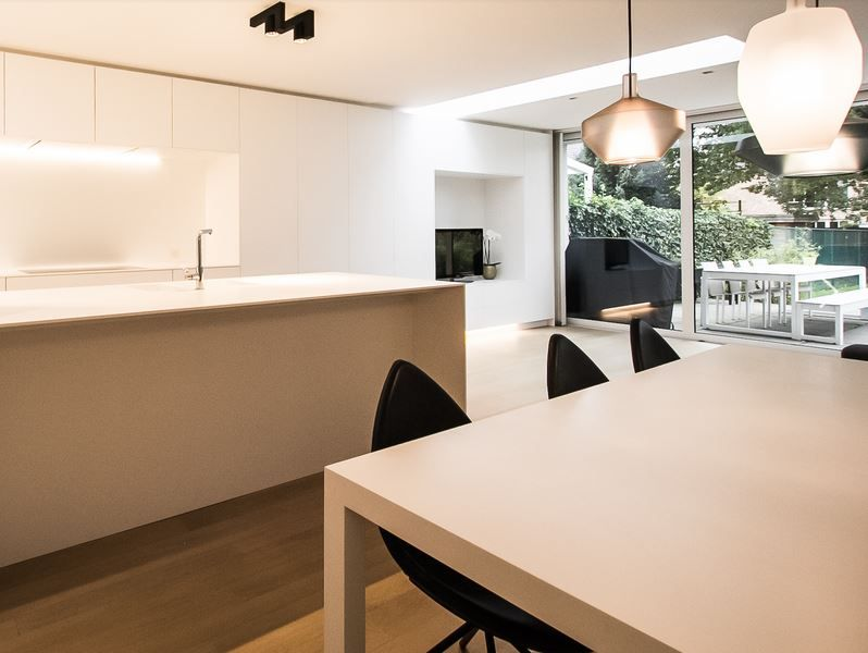 Kookeiland In Woonkamer : Keukeninspiratie open keuken naar de woonkamer kookeiland met