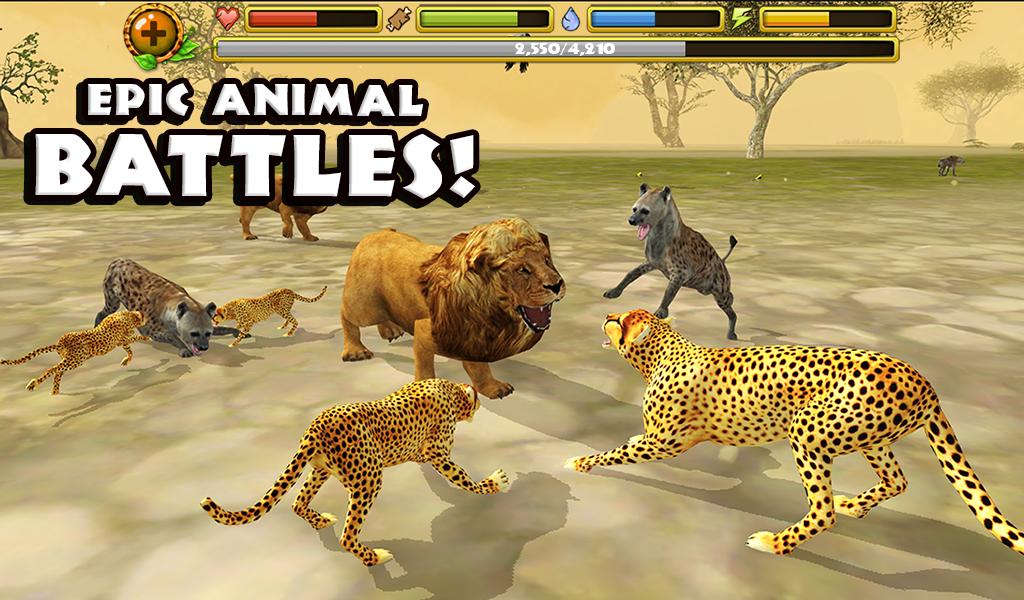 Cheetah Simulator Cheetah Simulator Animals Animal Games Cheetah