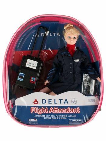 Flight Attendant Doll