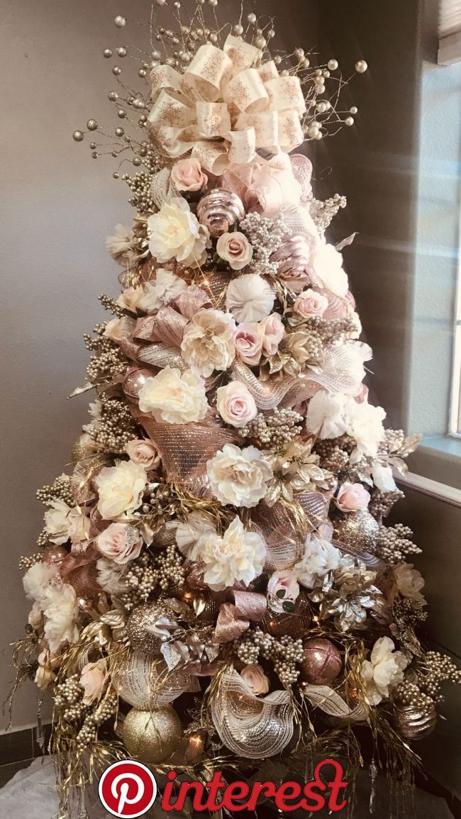 20+ Perfect Gold Christmas Tree Decoration Ideas If you are looking for trendy i…