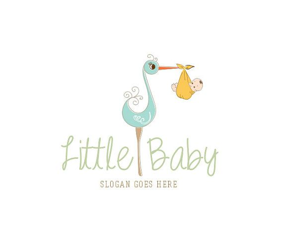 Custom Baby Logo / Newborn Baby Design Baby design, Logo