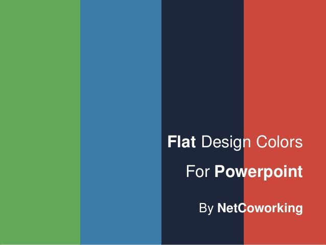 Flat Design Powerpoint Template  Google Search  BFlatPage