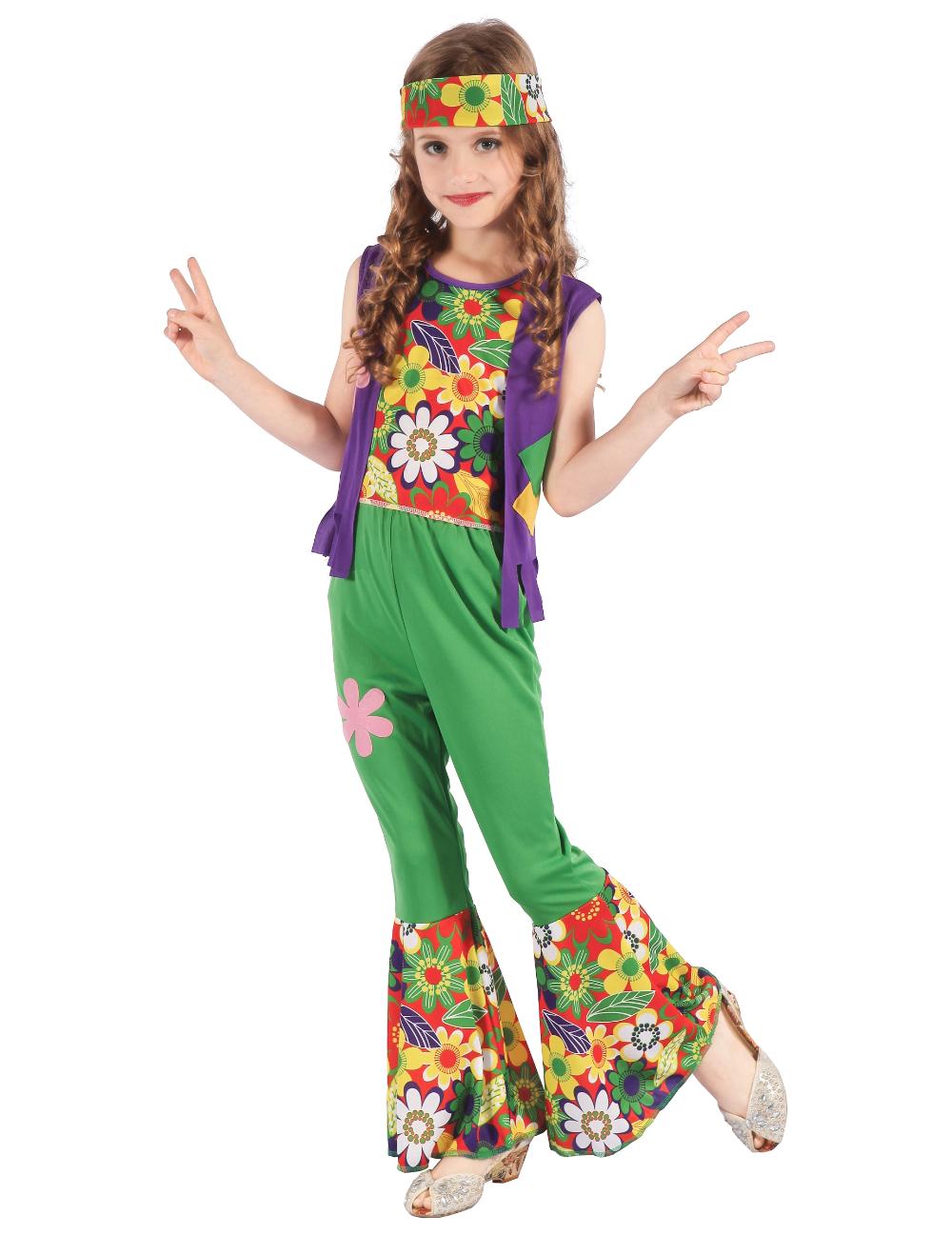 Hippie Costume Per Bambini Ragazzi Hippy 60 S Costume Vestito