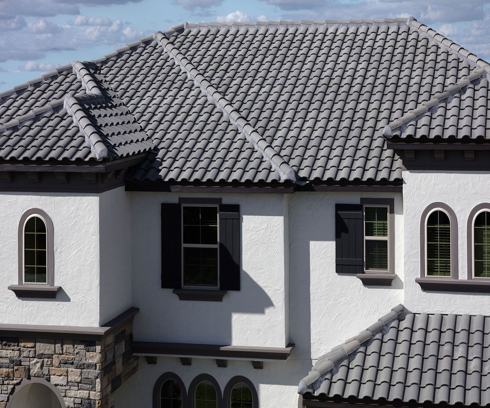 3679 Eagle Roofing House Roof Exterior House Color Spanish Tile Roof