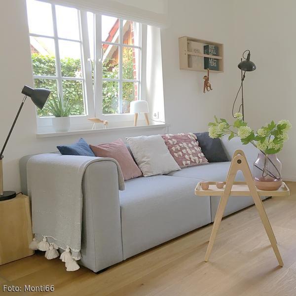 Hay Sofa mit verschiedensten Kissen   Wohnen, Haus, Wohnung
