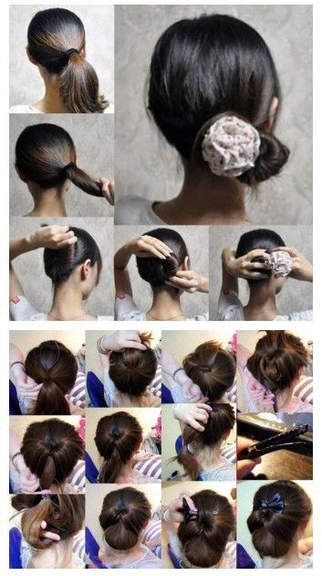 Pin By Sameeha Kaushik On Hairstyles Medium Hair Styles Braided Headband Hairstyle Prom Hair Medium