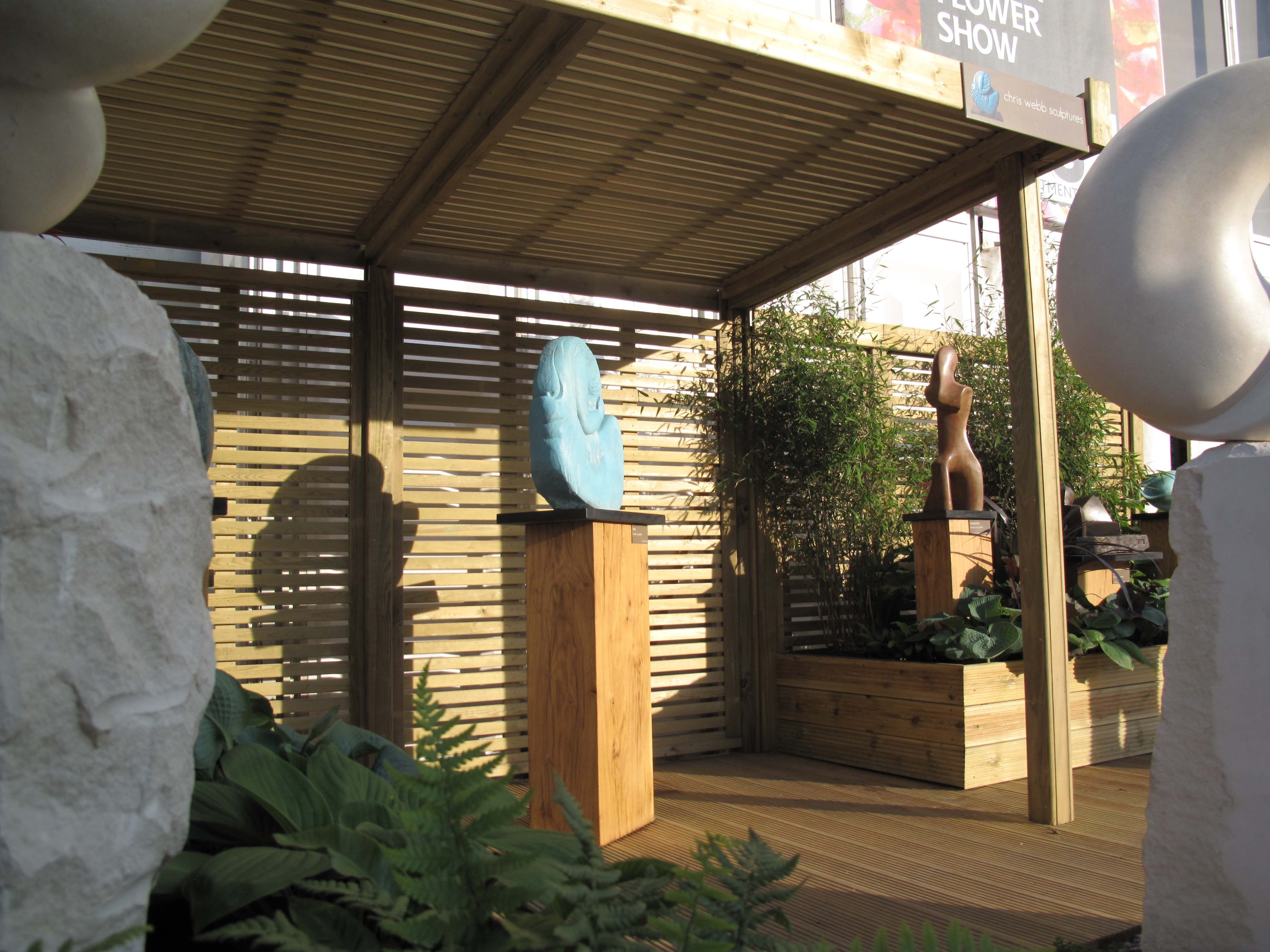 Garden Ideas 2014 Uk jacksons retreat shelter and venetian fence panels in chris webb's