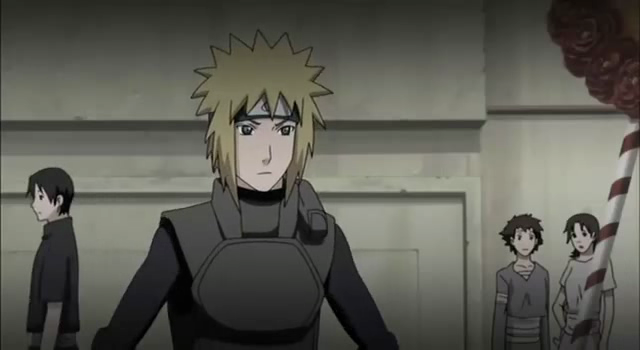 minato in the lost tower naruto shippuden the movie 4