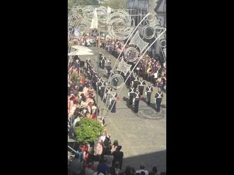 Desfile completo da fanfarra B.V.Fão nas festas senhor bom jesus de Fão 2015 - YouTube