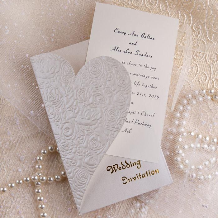 Wedding Invitations With A Romantic Touch
