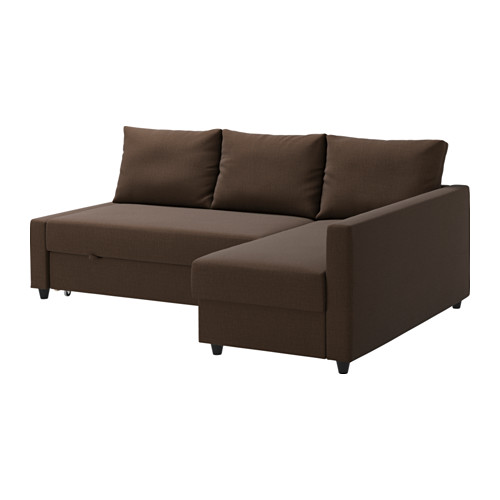 ikea friheten eckbettsofa skiftebo braun die r camiere kann links oder rechts vom sofa. Black Bedroom Furniture Sets. Home Design Ideas