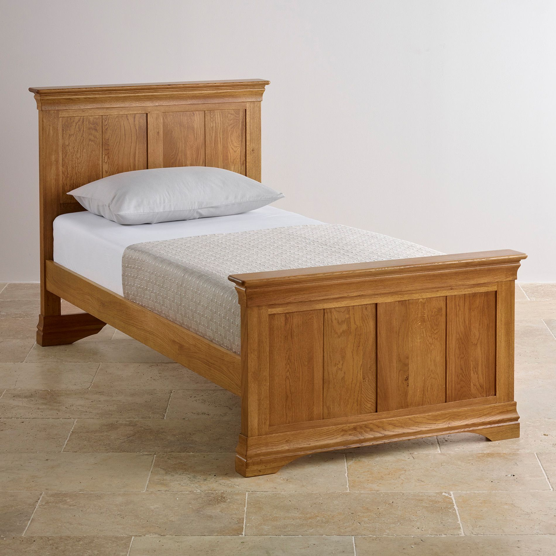 french farmhouse styling single bed oak furniture land paris all