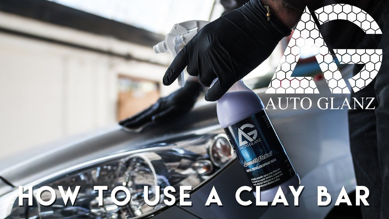 How to use a clay bar Clay barring explained Car care