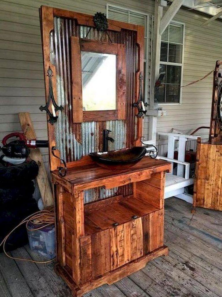 Diy pallet projects with instructions decoraci n en for Confeccionamos muebles de bano en palet