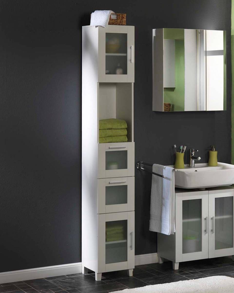 mueble alto lisa muebles bao jysk 190x30x30 13995 - Bathroom Cabinets Jysk