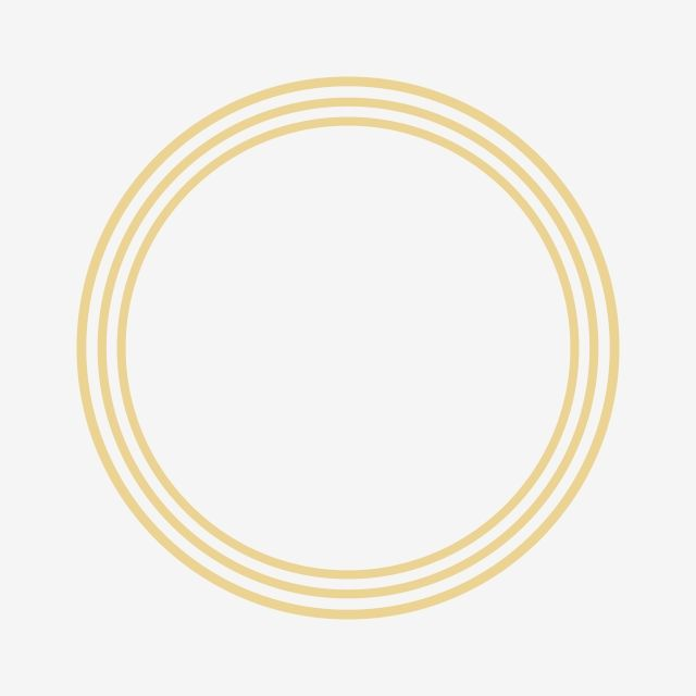 Circle Golden Frame Clipart Png Vector Element Circle Circle Frame Golden Circle Png And Vector With Transparent Background For Free Download Frame Clipart Circle Frames Clip Art