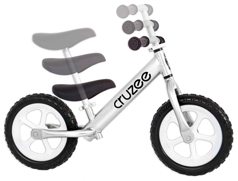 Astounding Cruzee Ultralite Balance Bike In Silver From Balance Camellatalisay Diy Chair Ideas Camellatalisaycom
