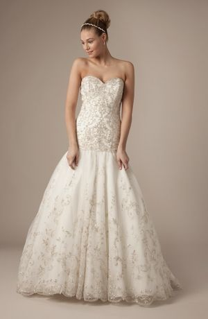 Alita Graham Sweetheart A Line Gown In Tulle Sparkly Wedding Dress Long Wedding Dresses Wedding Dresses