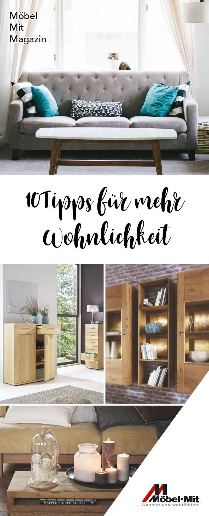 10 #Tipps für mehr #Wohnlichkeit im eigenen #Zuhause gibt\'s in ...
