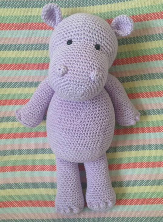 Heart & Sew: Happy Hippo - Free Crochet / Amigurumi Pattern ...