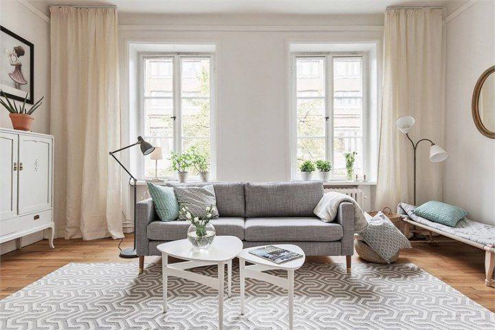 Estampados delicados de papel de pared Living spaces, Interiors