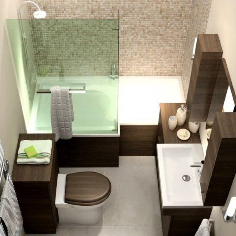 L-Shaped Bath with tiled panel. | Dreambath | Pinterest | Bath and ...