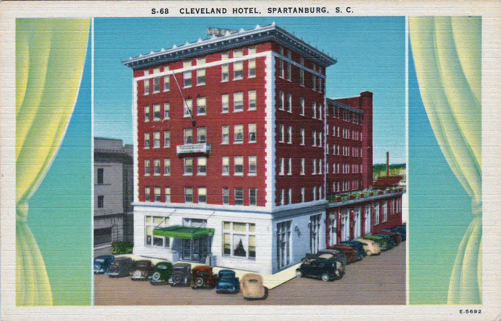 Cleveland Hotel Spartanburg Sc